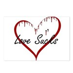 Love Sucks Postcards (Package of 8)