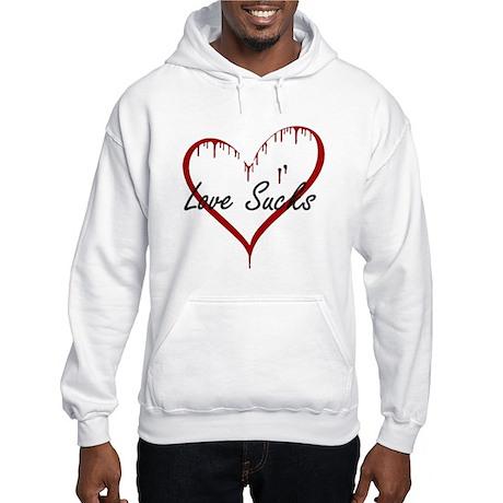 Love Sucks Hooded Sweatshirt