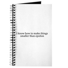 I know how to make things < epsilon Journal