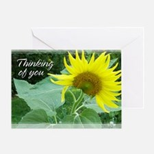 Sunflower Thinking of You Card 5x7