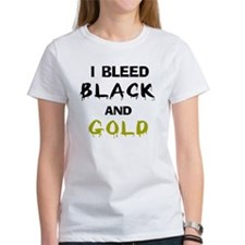 I Bleed Black and Gold Tee