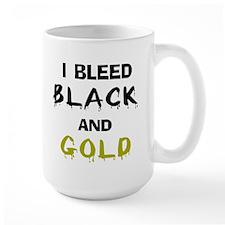 I Bleed Black and Gold Mug