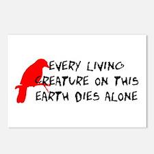 Dies Alone Postcards (Package of 8)