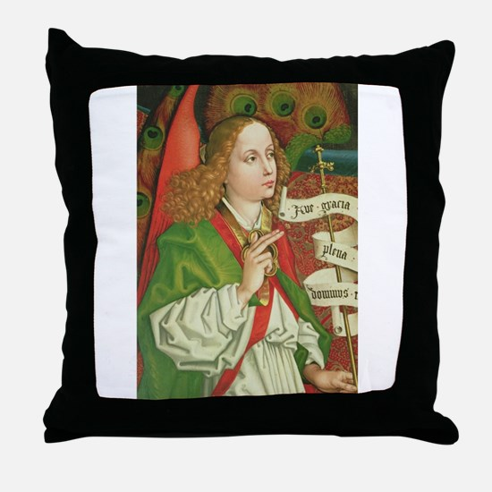 Archangel Gabriel - Annunciation - Sc Throw Pillow