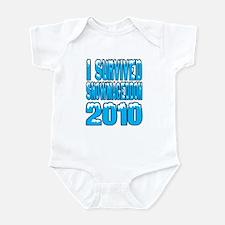 Snowmageddon 2010 Infant Bodysuit