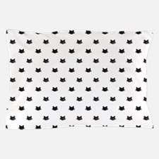 Black Cats Pattern Pillow Case
