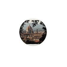 Duomo, Florence Mini Button