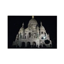 Sacre Coeur, Paris Rectangle Magnet (100 pack)