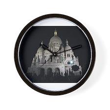 Sacre Coeur, Paris Wall Clock