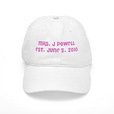 MRS. J POWELL EST. JUNE 5, 2010 Baseball Cap