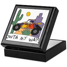 Fidget Desert Racer Keepsake Box