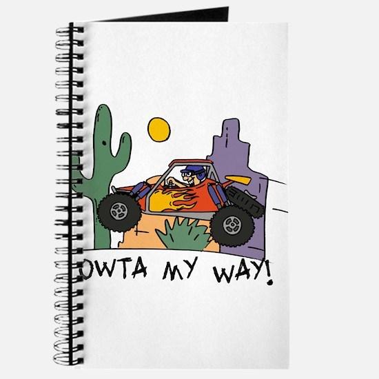 Fidget Desert Racer Journal