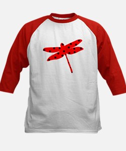 Flamenco red dragonfly Tee