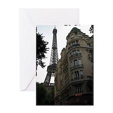 Eiffel in Summer Greeting Card