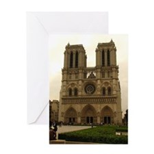 Notre Dame, Paris Greeting Card