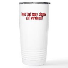 Hopey Changey Palin Travel Coffee Mug