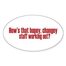 Hopey Changey Palin Decal