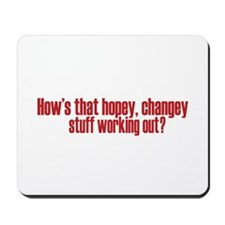 Hopey Changey Palin Mousepad