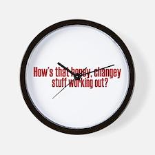 Hopey Changey Palin Wall Clock