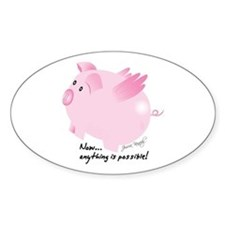 2-pig on 20x20 Decal