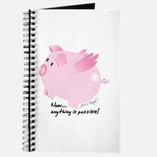 Funny Flying pigs Journal