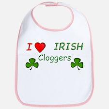 Love Irish Cloggers Bib