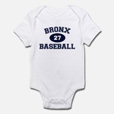 Bronx Baseball Infant Bodysuit
