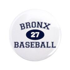 "Bronx Baseball 3.5"" Button"
