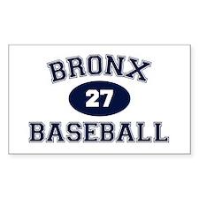 Bronx Baseball Decal