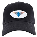 Eagle Icon Black Cap