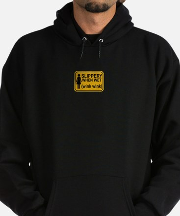 When Wet Odd Sign 1 Hoodie (dark)