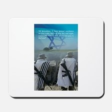 Watchman On Your Walls oh Jerusalem Mousepad