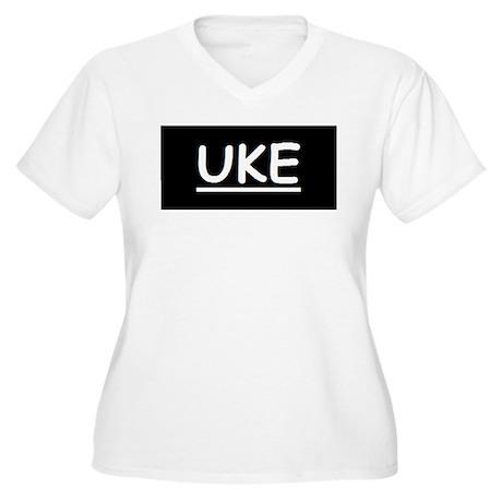 Uke Women's Plus Size V-Neck T-Shirt