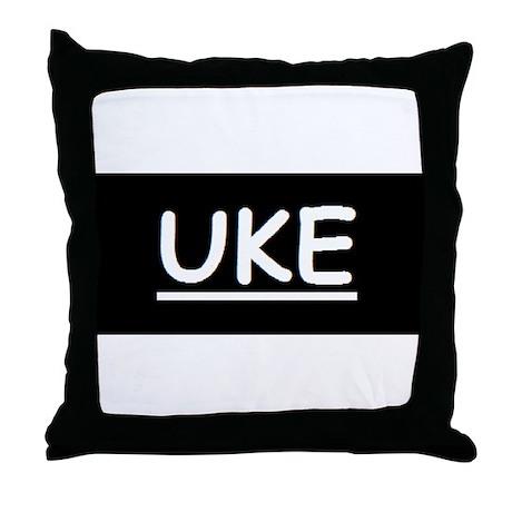 Uke Throw Pillow