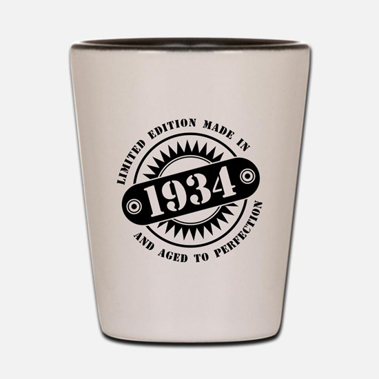 LIMITED EDITION MADE IN 1934 Shot Glass