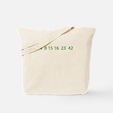 Cute 4 8 15 16 23 42 Tote Bag