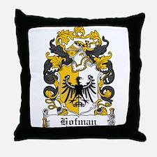 Hofman Coat of Arms Throw Pillow