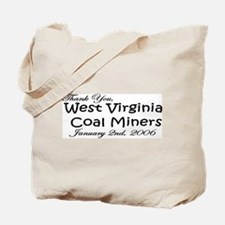 West Virginia Coal Miners Tote Bag