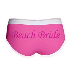 Beach Bride Women's Boy Brief