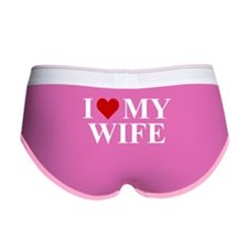 I Love My Wife! Women's Boy Brief