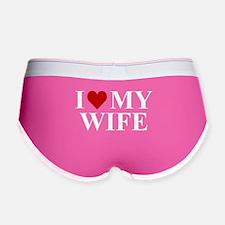 I Love My Wife! Women's Boy Brief