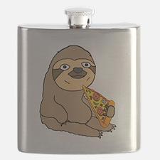 Cute Food humor Flask