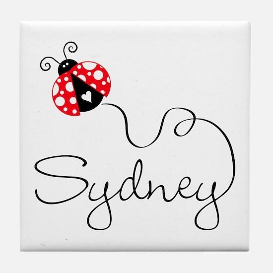Ladybug Sydney Tile Coaster
