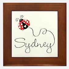 Ladybug Sydney Framed Tile