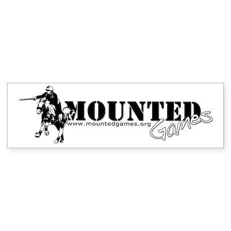 Mounted Games Bumper Sticker