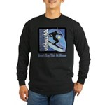 Skier Challenge Long Sleeve Dark T-Shirt