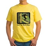 Skier Challenge Yellow T-Shirt