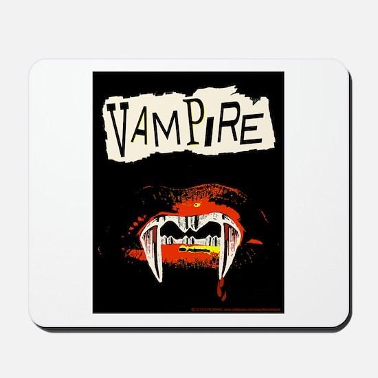 Vampire Punk Mousepad