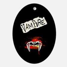 Vampire Punk Ornament (Oval)