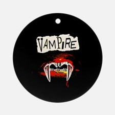 Vampire Punk Ornament (Round)